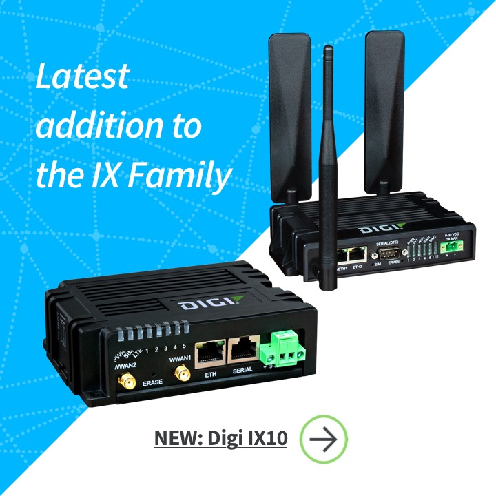 Digi IX10 Industrial Cellular Router