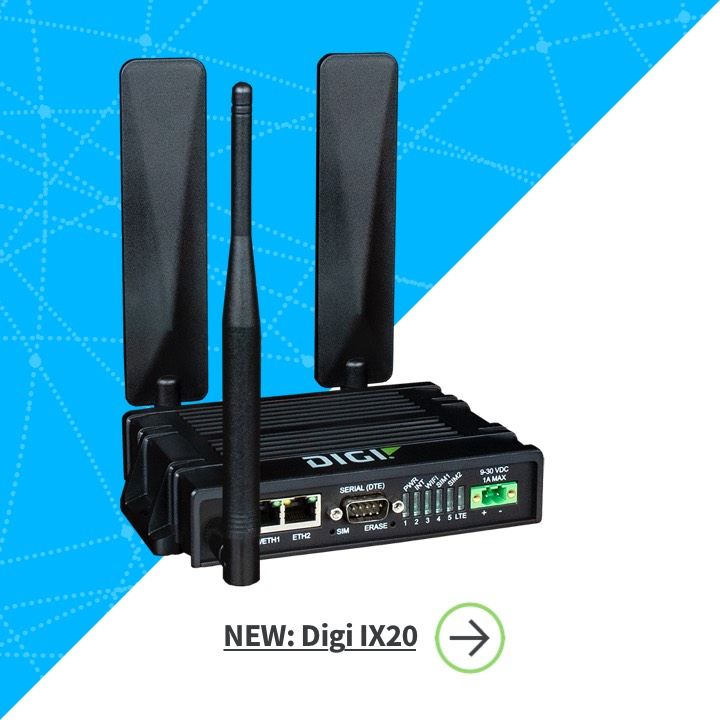 Digi IX20 Industrial Cellular Router