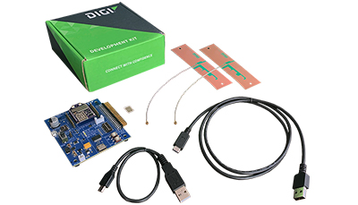 Digi XBee 3 Cat 1 Kit Components