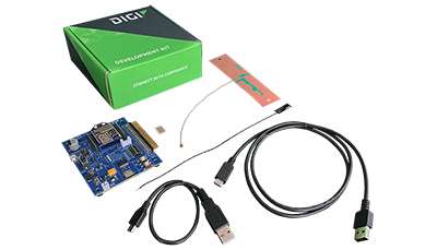 Digi XBee 3 LTE-M/NB-IoT Kit Components
