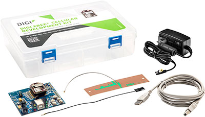 Digi XBee3 LTE-M Kit Components