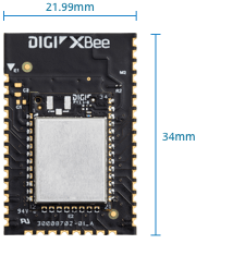 Surface-Mount Digi XBee Module