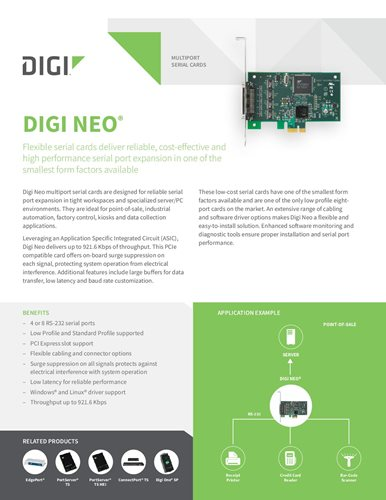 Digi Neo datasheet cover page