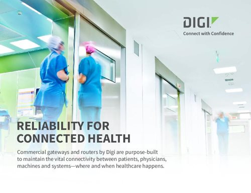 Reliable Connected Health cover page