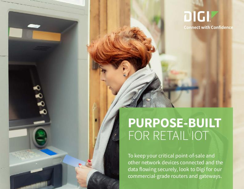 Purpose-built for Retail IoT cover page
