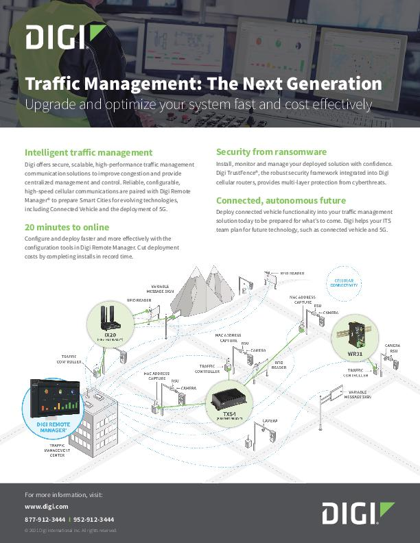 Traffic Management: The Next Generation cover page
