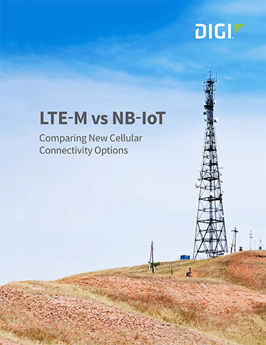 LTE-M vs NB-IoT White Paper cover page