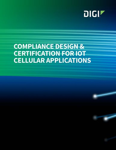 Compliance Design & Certification for IoT Cellular Applications cover page