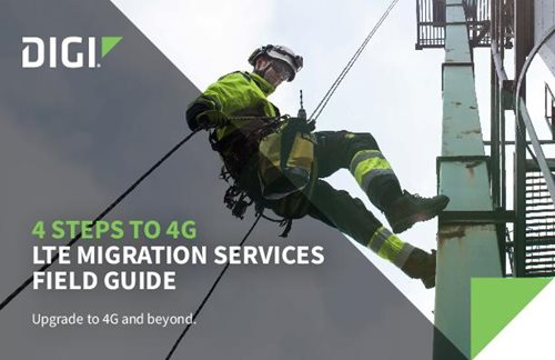 4 Steps to 4G: LTE Migration Services Field Guide cover page