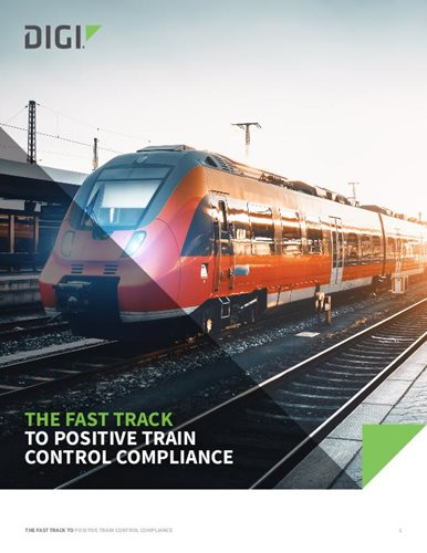 The Fast Track to Positive Train Control Compliance White Paper cover page