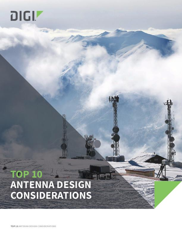 Top 10 Antenna Design Considerations cover page