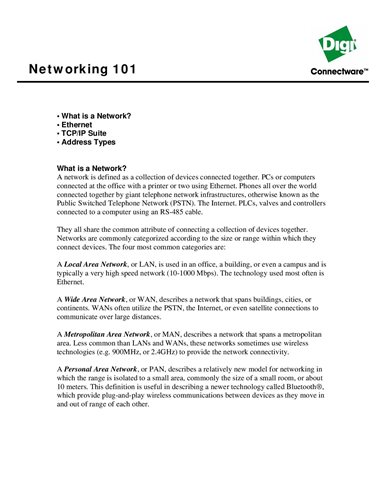 Serial Server to Ethernet Enable Any Industrial Serial Device - Digi