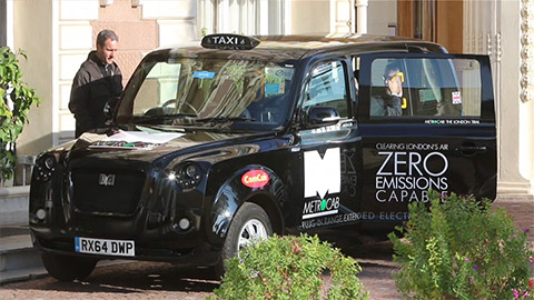 Digi and Frazer-Nash Team up to Create Cleaner, Greener Transport for London Metrocabs