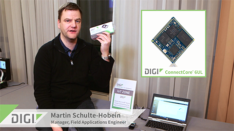 Connecting to Cloud Applications with Digi ConnectCore for i.MX6UL