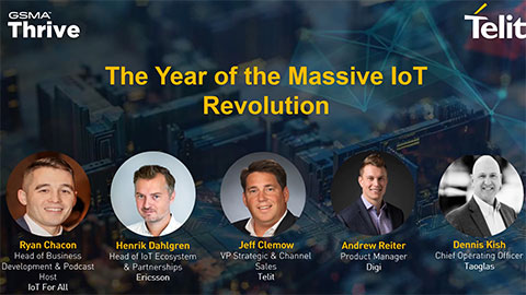 The Year of Massive IoT Revolution