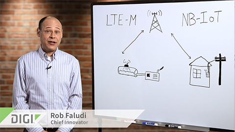What are the Differences Between LTE-M and NB-IoT Cellular Protocols?