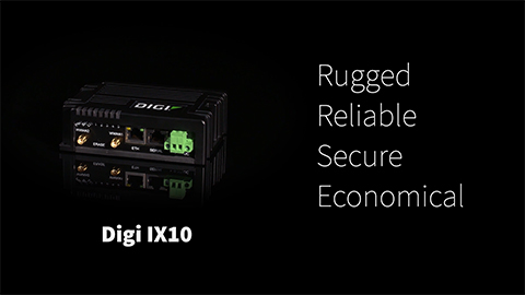 Meet the Digi IX10 Industrial Router