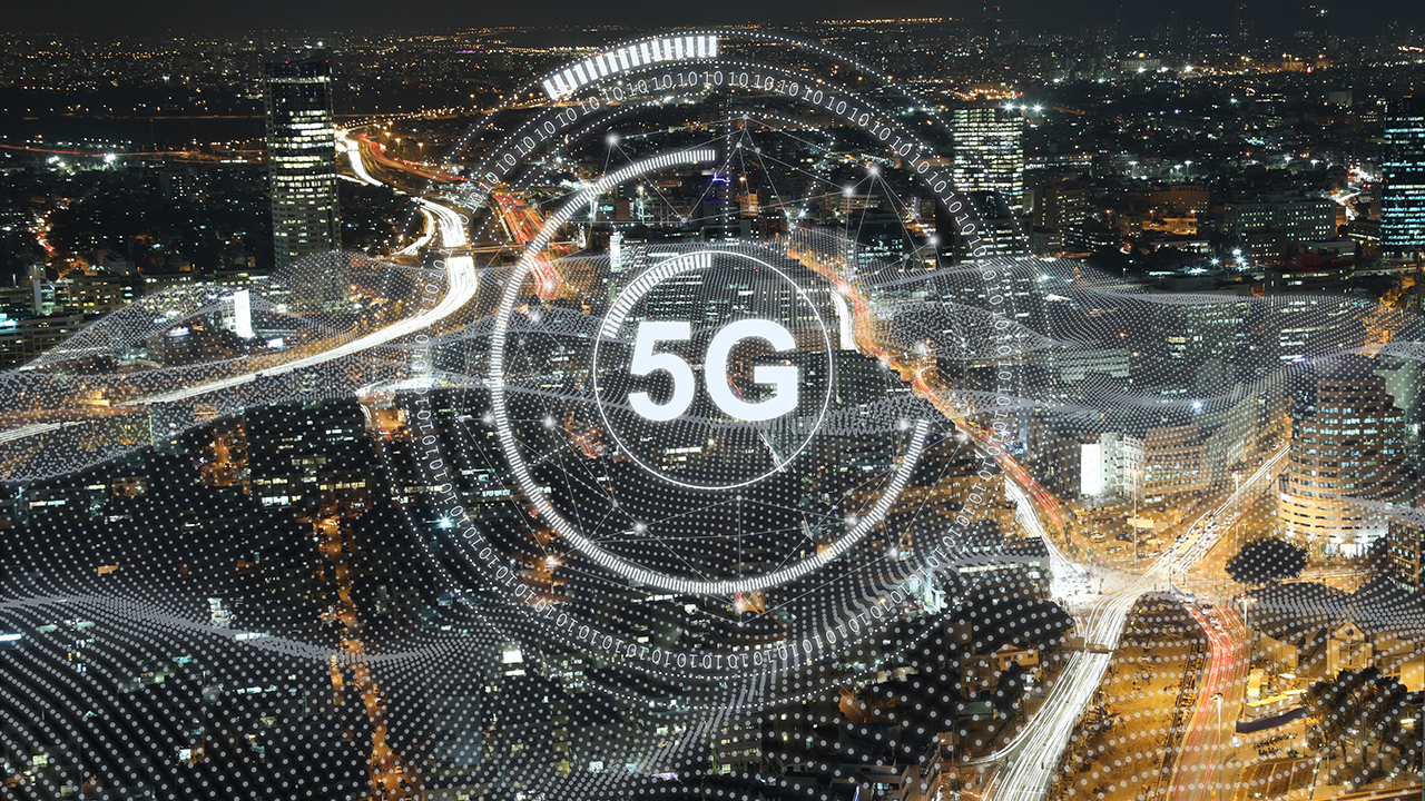 5G in a smart city