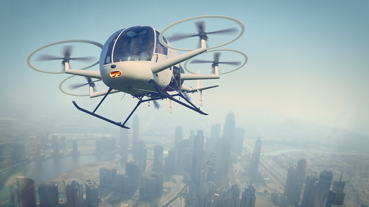 Drone air transport