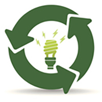 Green office icon