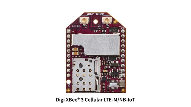 Introducing Digi XBee 3 Cellular LTE‑M/NB‑IoT