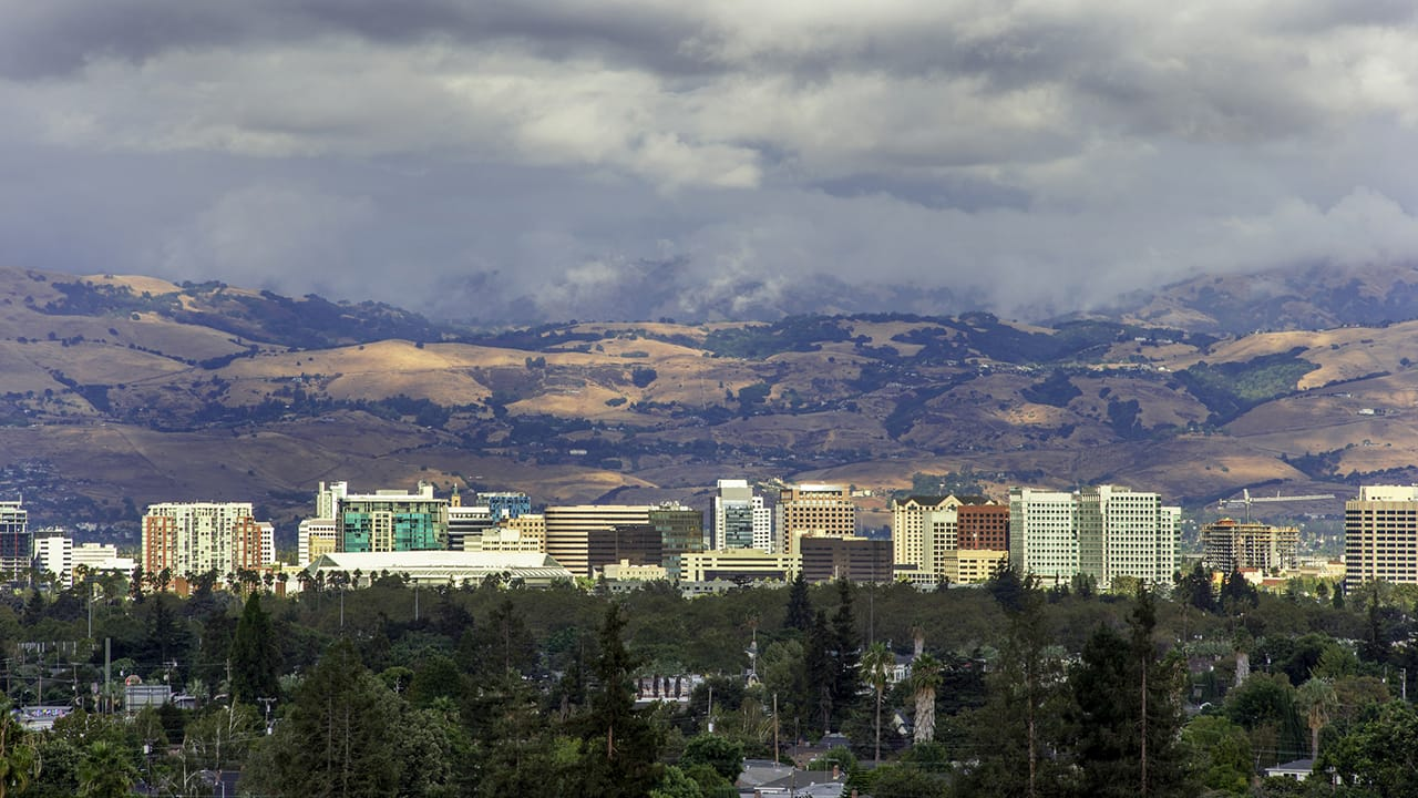 San Jose, California skyline