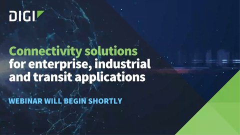 Connectivity Solutions for Enterprise, Industrial and Transit Applications