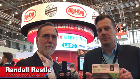 Live Digi XBee3 Interview at Embedded World 2018 with Mike Rohrmoser and Randall Restle