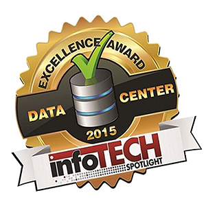 Accelerated Earns 2015 Data Center Excellence Award