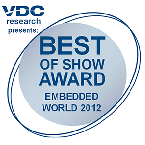 Digi Awarded Best of Show at Embedded World