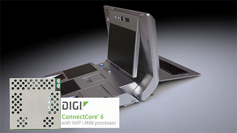 Ideco Develops Biometric Technology Solution with Digi ConnectCore® 6