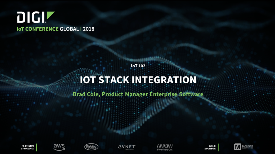 Internet of Things Stack Integration