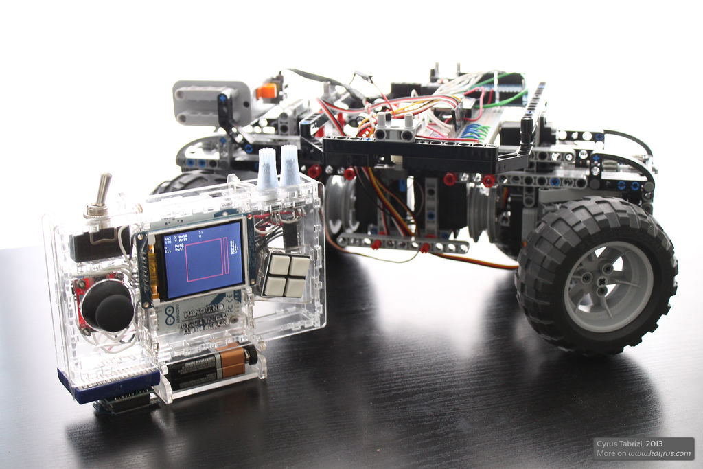 Lego and Arduino RC Vehicle | Digi International
