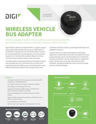 J1708/J1939 to Wi-Fi Adapter - Digi International
