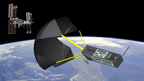 Cube Satellite with Digi XBee Radio Launches from the International Space Station (ISS)