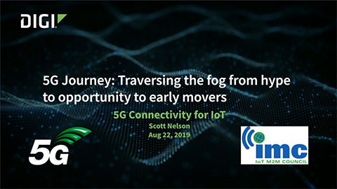 Digi, Vodafone and BICS Share Knowledge in 5G IoT Webinar