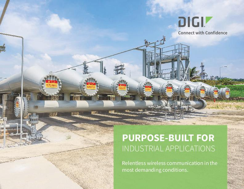 Digi communication solutions help you expand remote monitoring into areas that are difficult to access.