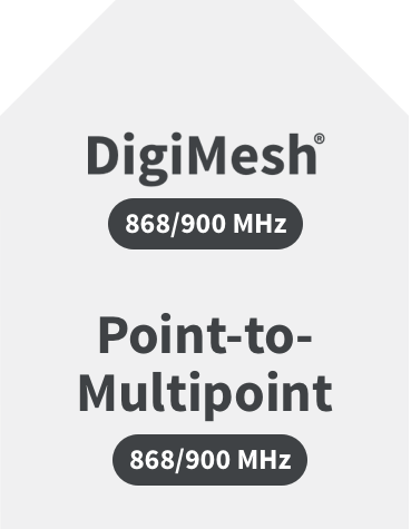 DigiMesh, Point-to-Multipoint