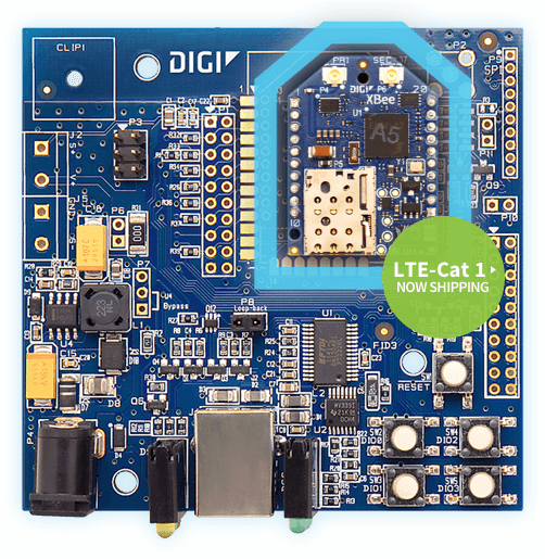 Digi XBee Cellular LET-Cat 1 Development Board