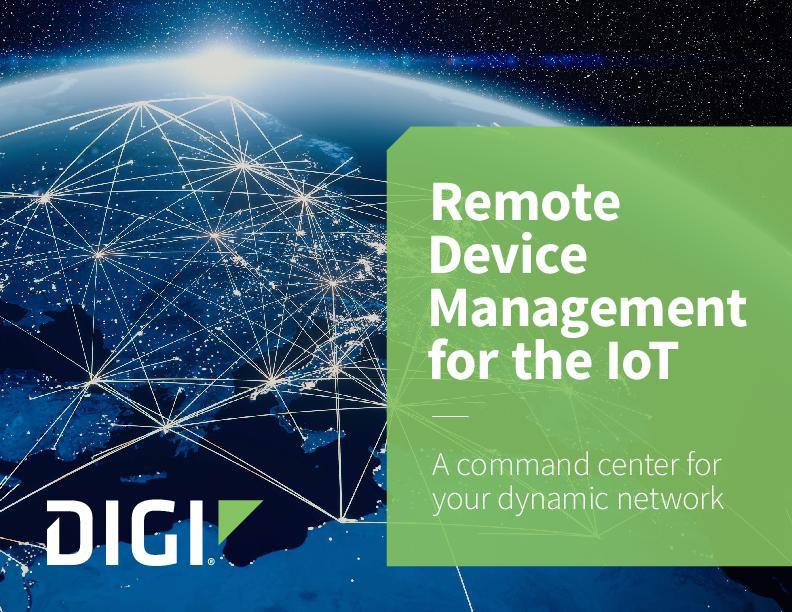 Remote Device Management for the IoT