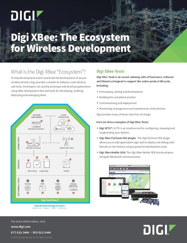 Digi XBee: The Ecosystem for Wireless Development