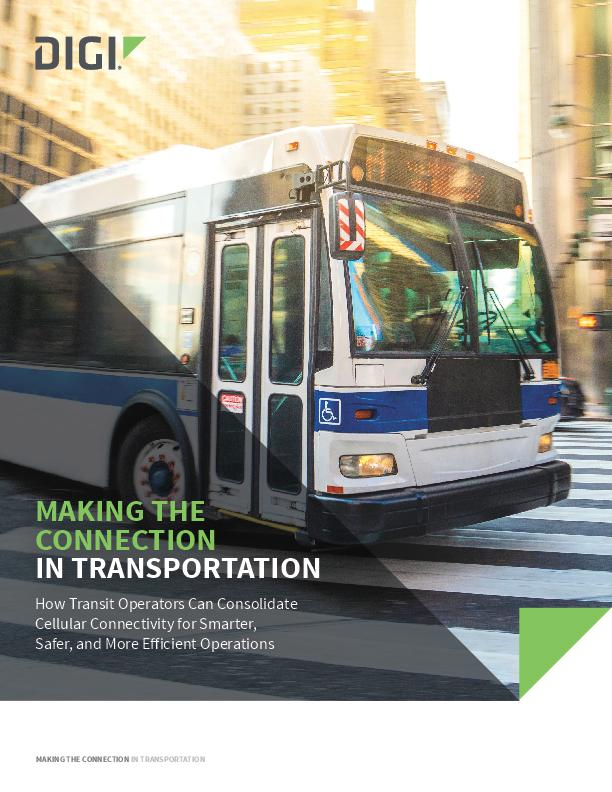 How to Simplify Transit Communications with a Single Connectivity Solution White Paper