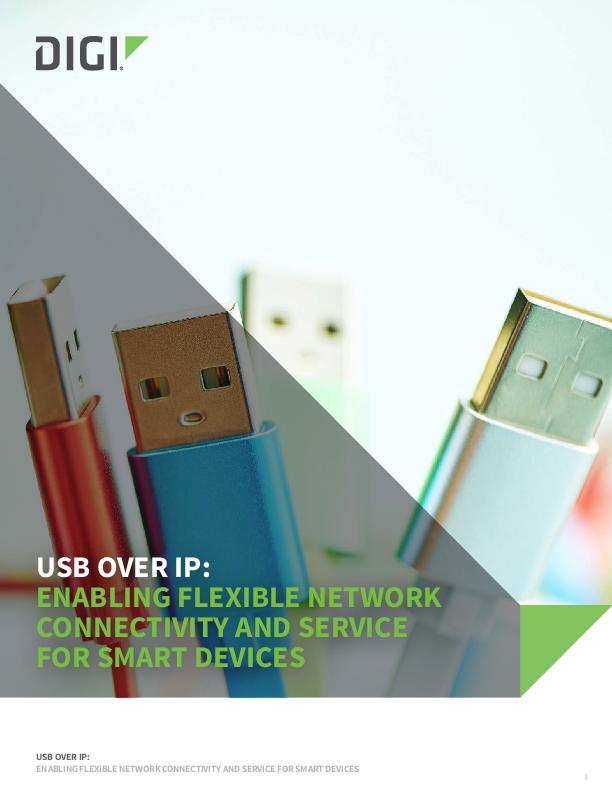 USB over IP: Turning your Network Into an I/O Bus White Paper