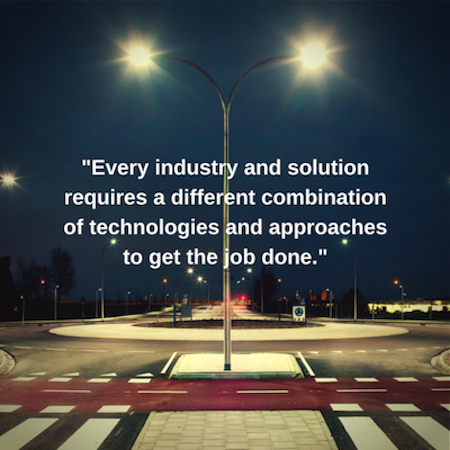 -Every industry and solution requires a