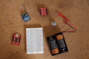Potentiometer Input Parts