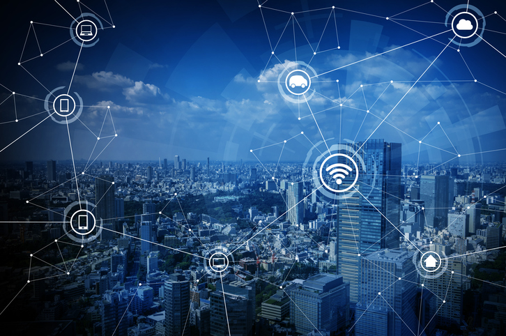 Wireless communication in smart city applications