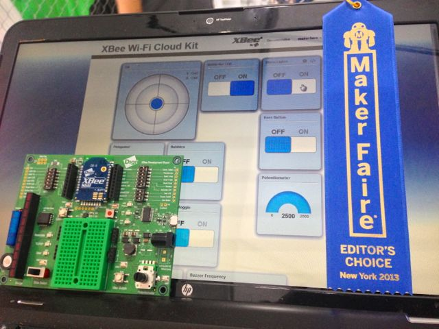 XBee Maker Faire Editor's Choice