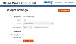 xbee-wifi-led-widget-settings