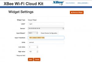 xbee-wifi-light-widget-settings