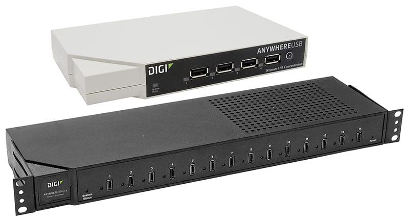 Network-Attached USB Hubs | Digi International